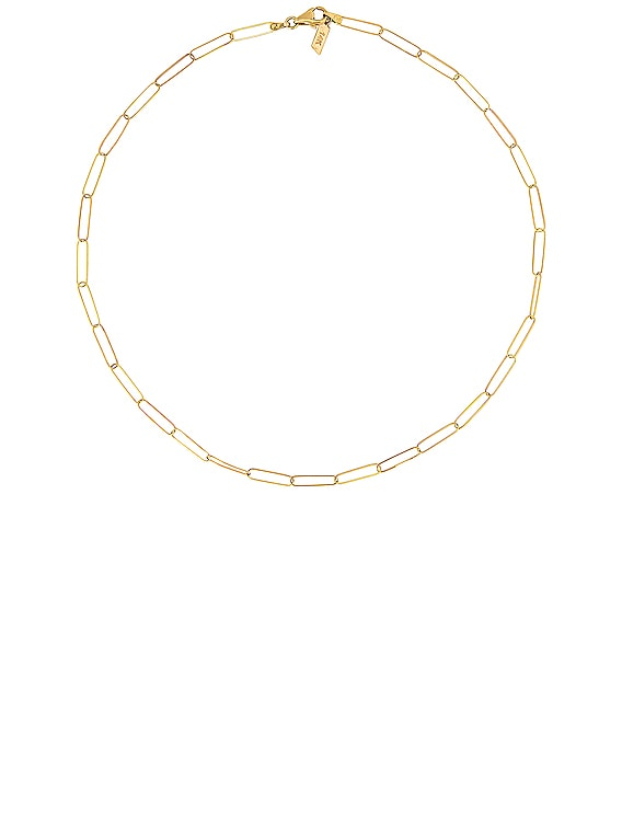 Juanita Chain Necklace in Yellow Gold