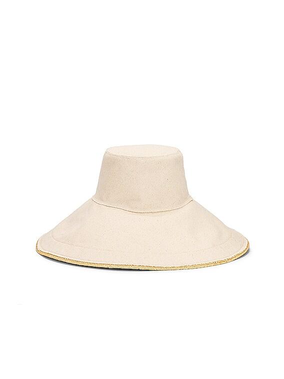Single Take Hat in Natural & Natural