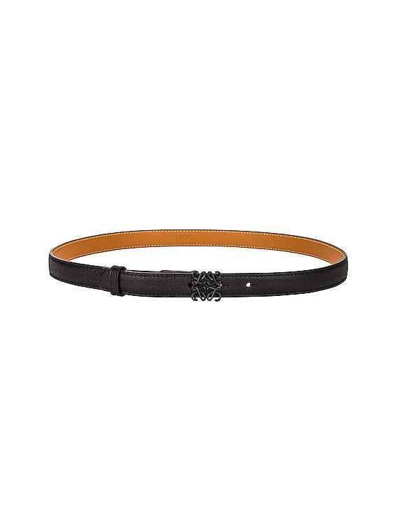 Anagram Belt in Black