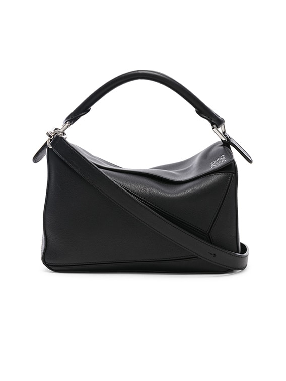 Puzzle Small Bag in Black
