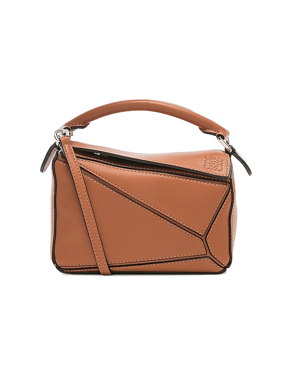 Puzzle Mini Bag in Tan