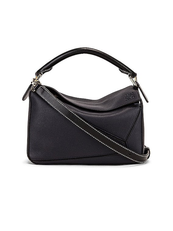 Puzzle Small Bag in Midnight Blue & Black