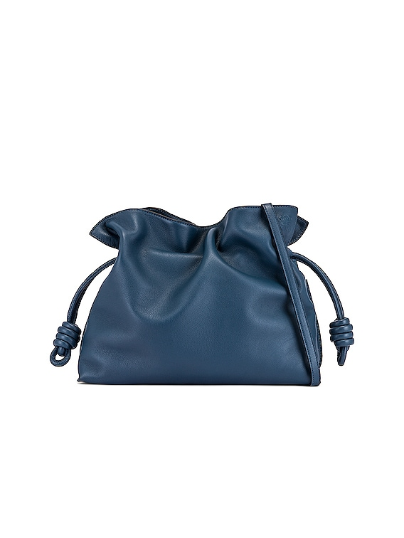 Flamenco Clutch in Varsity Blue