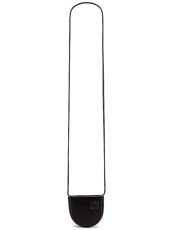 Heel Mini Pouch Bag in Black
