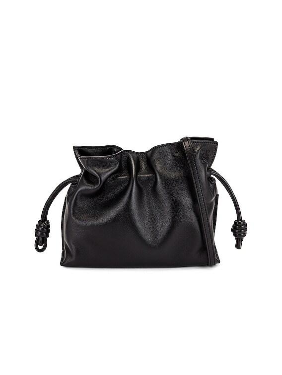 Flamenco Clutch Mini Bag in Black