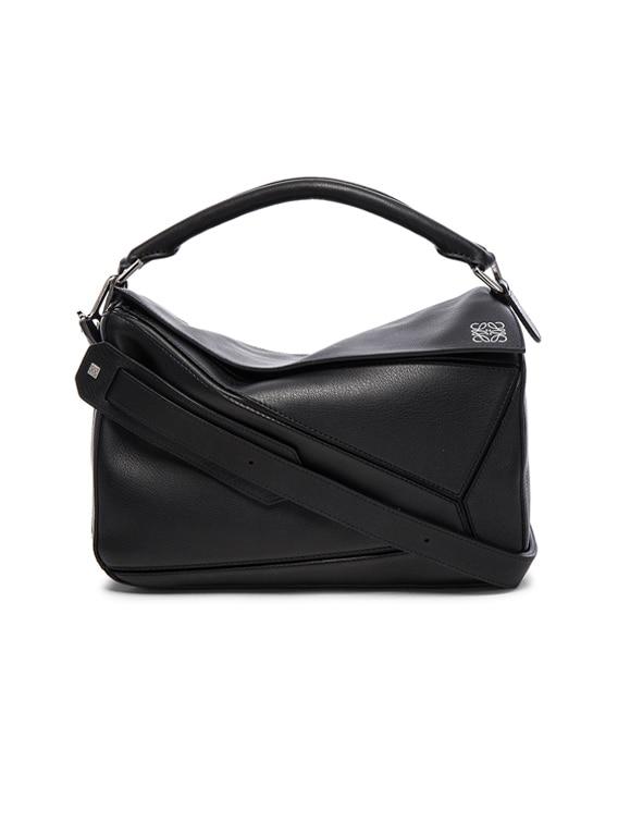 Puzzle Bag in Black
