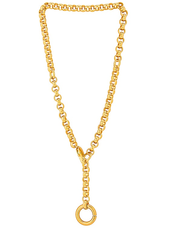 Rina Necklace in Gold