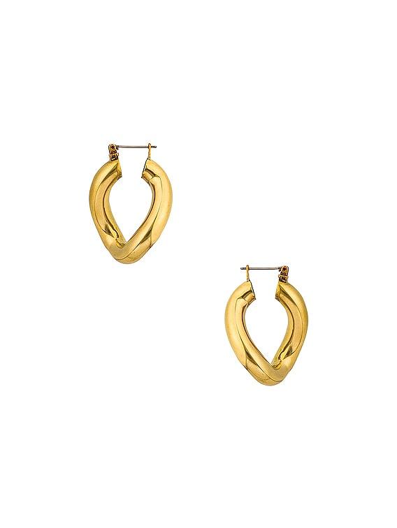 Anima Earrings in Gold