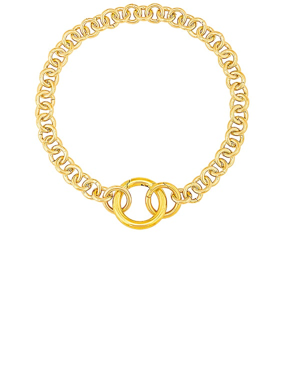 Fede Necklace in Gold