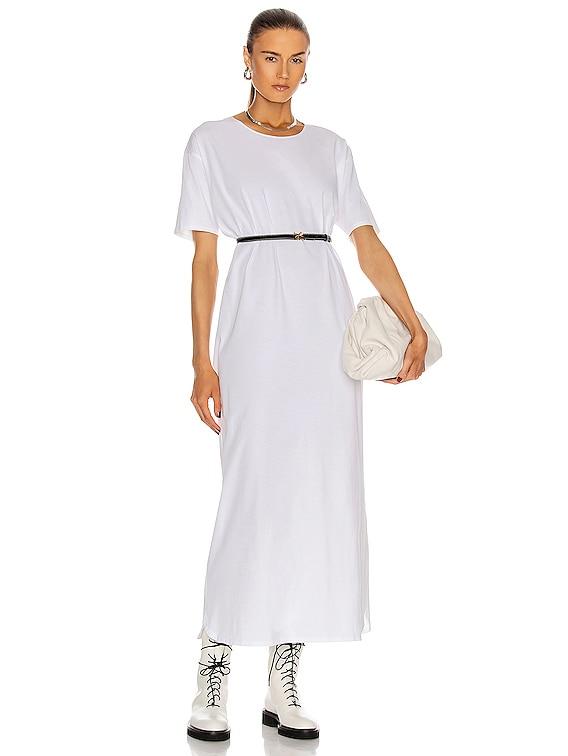 Arue Robe Dress in White
