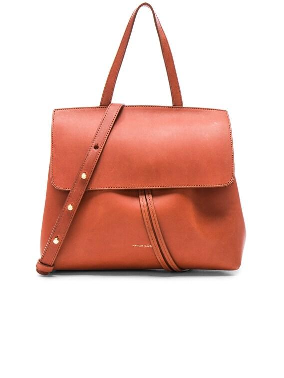 Mini Lady Bag in Brandy Avion