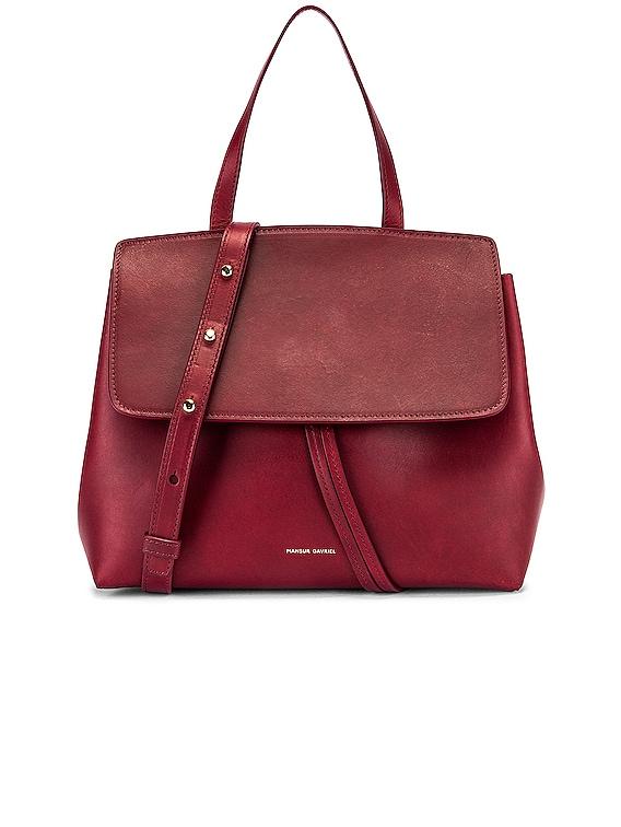 Mini Lady Bag in Bordo