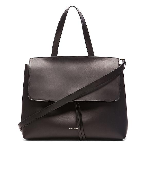 Lady Bag in Black & Flamma