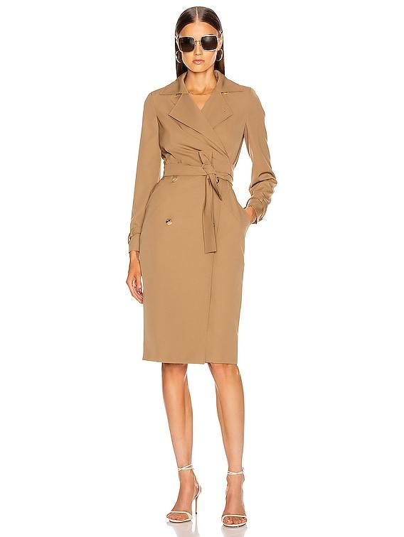 Lucia Dress in Camel