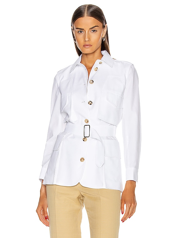Orfeo Jacket in Optical White
