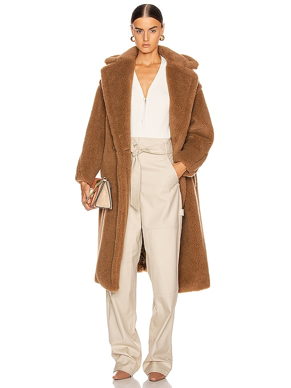 Teddy Coat in Camel