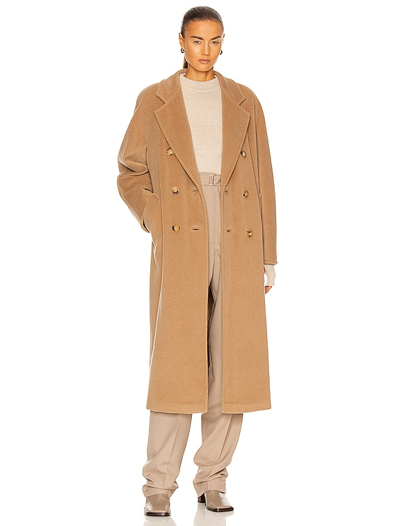 Madame Coat in Camel