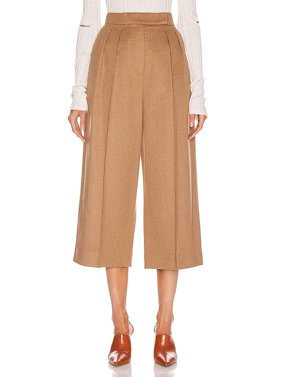 Peplo Pant in Camel