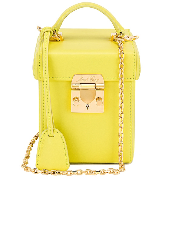 Grace Cube Bag in Citron