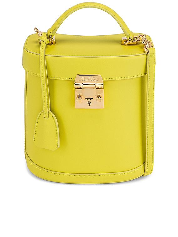 Benchley Leather Bag in Citron