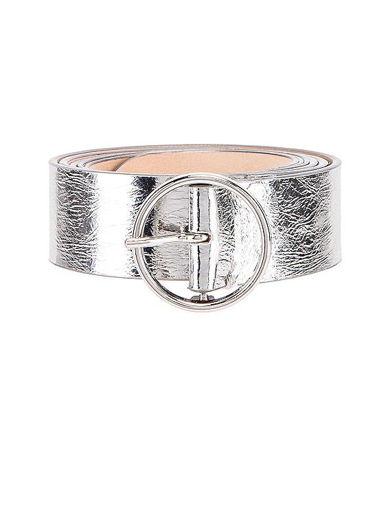 Single Buckle Belt in Silver