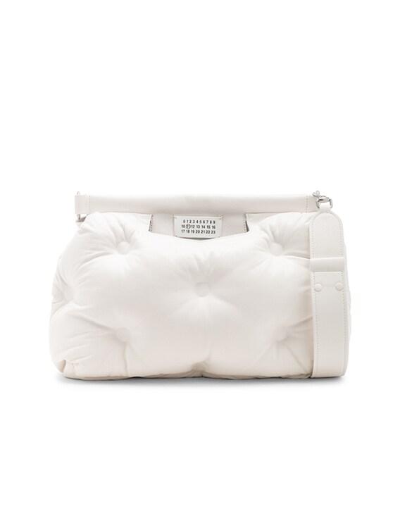 Glam Slam Shoulder Bag in White