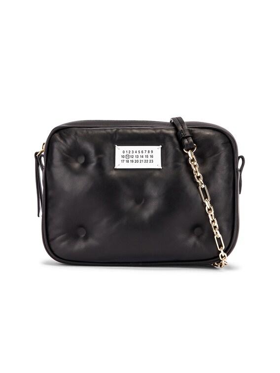 Glam Slam Square Bag in Black