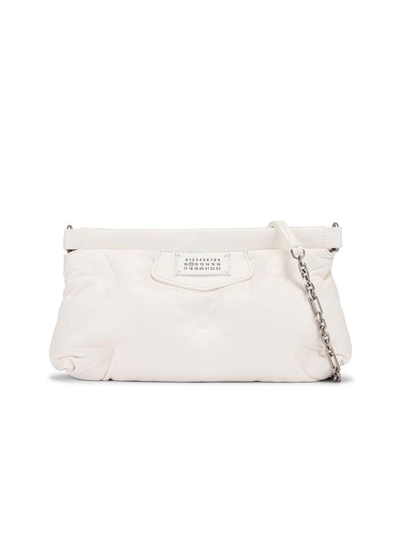 Glam Slam Bag in White
