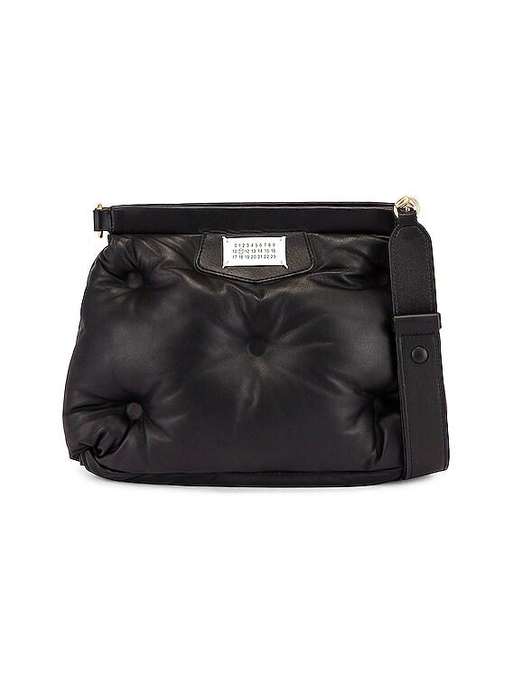 Glam Slam Shoulder Bag in Black