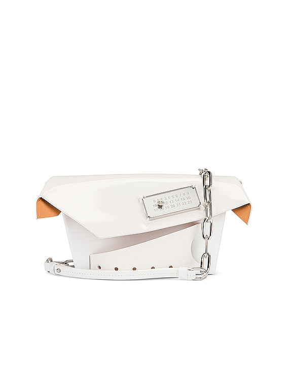 Snatched Clutch in White
