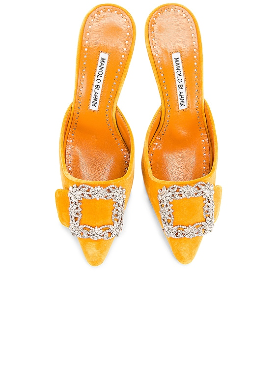 Maysale Jewel 40 Mule in Yolk