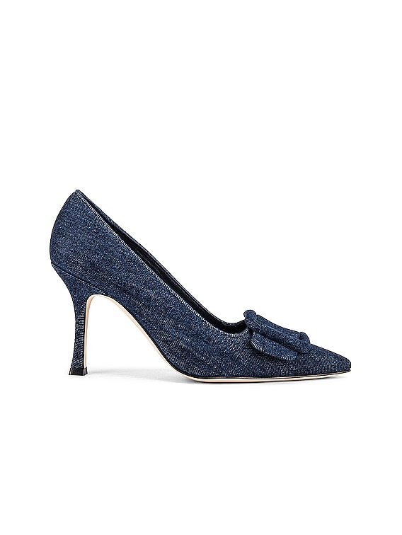 Masale 90 Pump in Navy