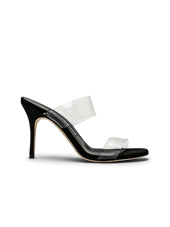 PVC Scolto 90 Sandal in Black