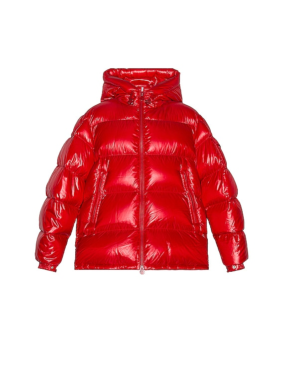 Ecrins Puffer Jacket in Red