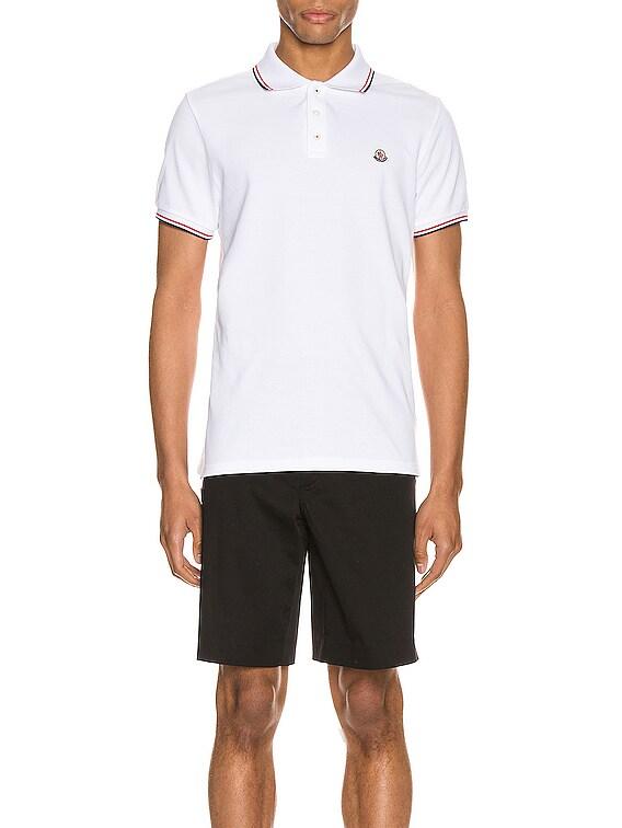 Polo in White