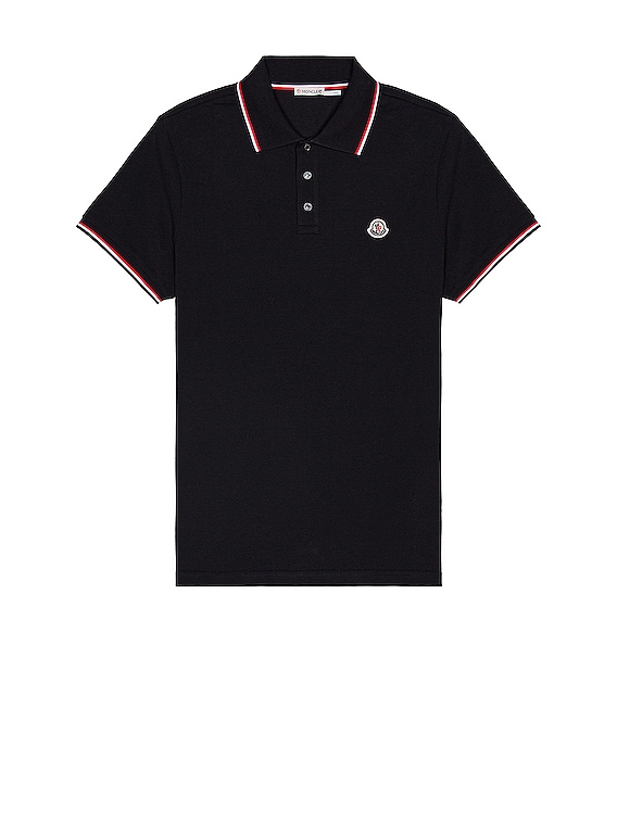 Short Sleeve Polo in Navy