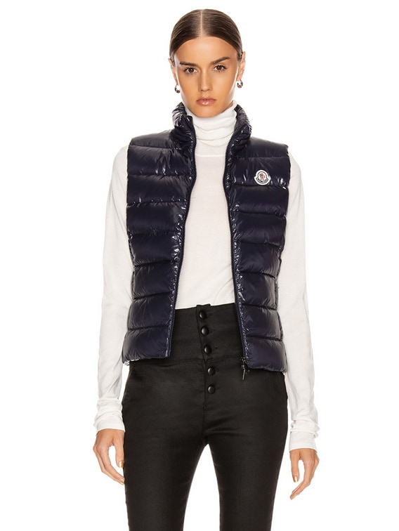 Ghany Vest in Navy