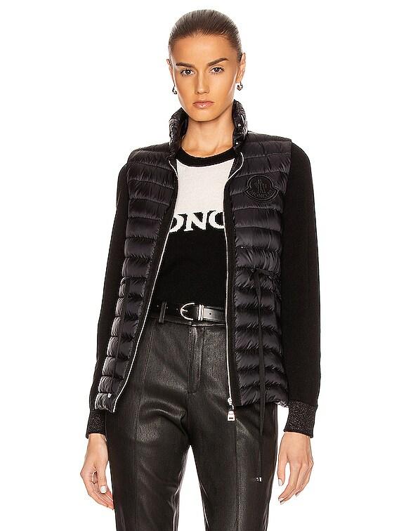 Azur Gilet Vest in Black