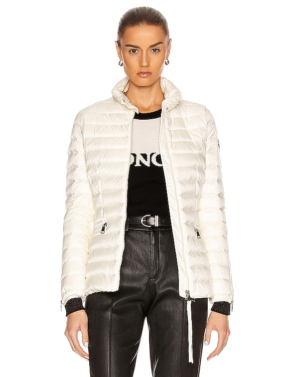 Safre Giubbotto Jacket in Ivory