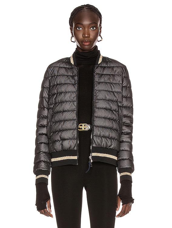 Or Giubbotto Jacket in Black