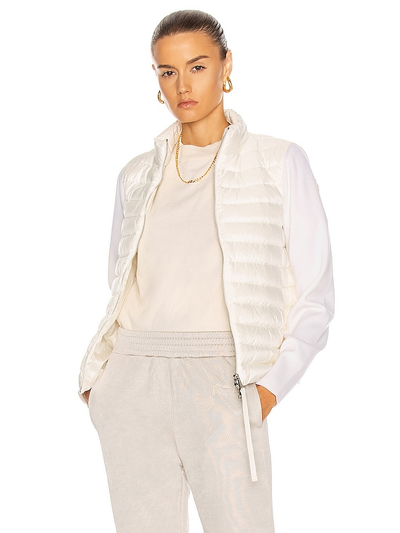 Cardigan Tricot Jacket in White