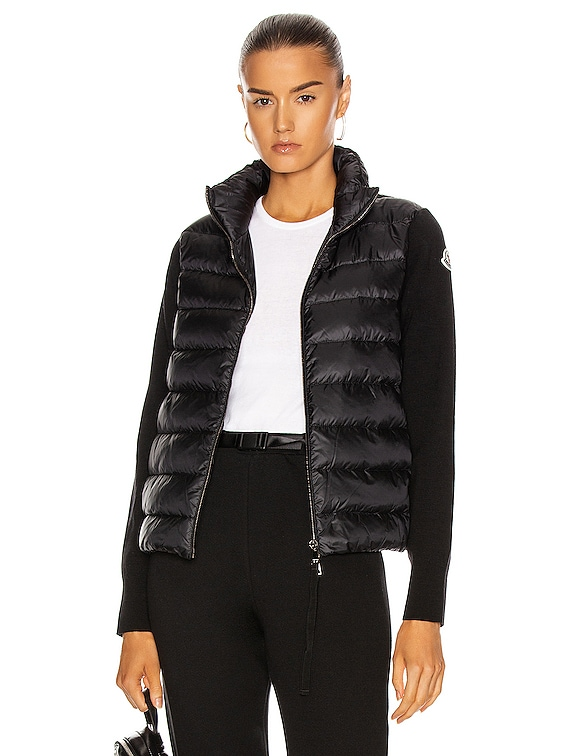 Cardigan Tricot Jacket in Black