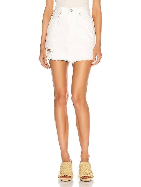 Ripliy Skirt in White