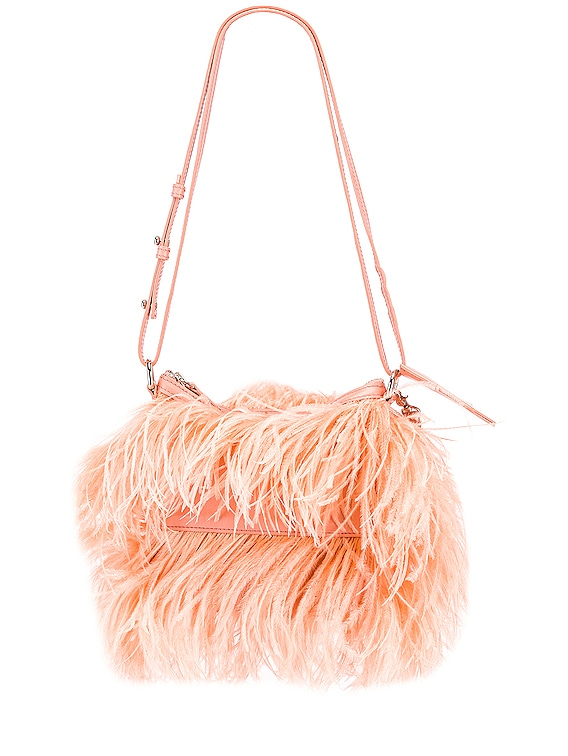 Feather Bag in Pink