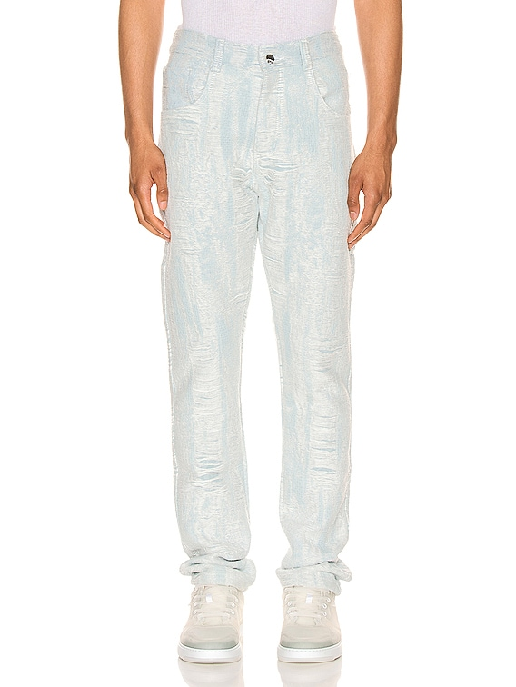 Distressed Storm Denim Pant in Denim
