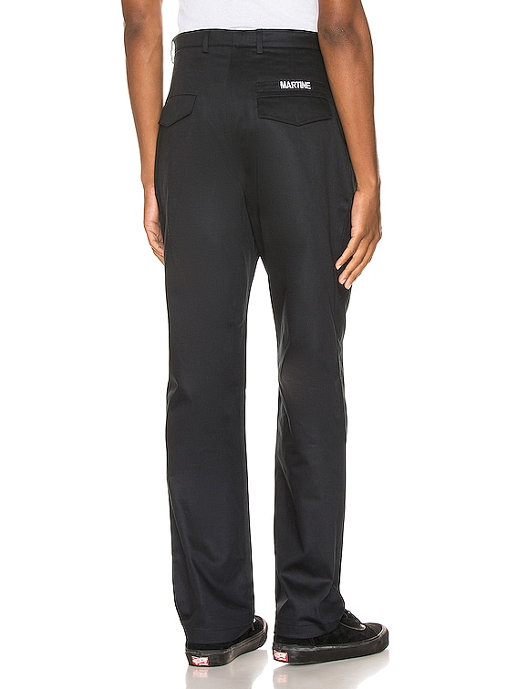 Cargo Pocket Trousers in Black