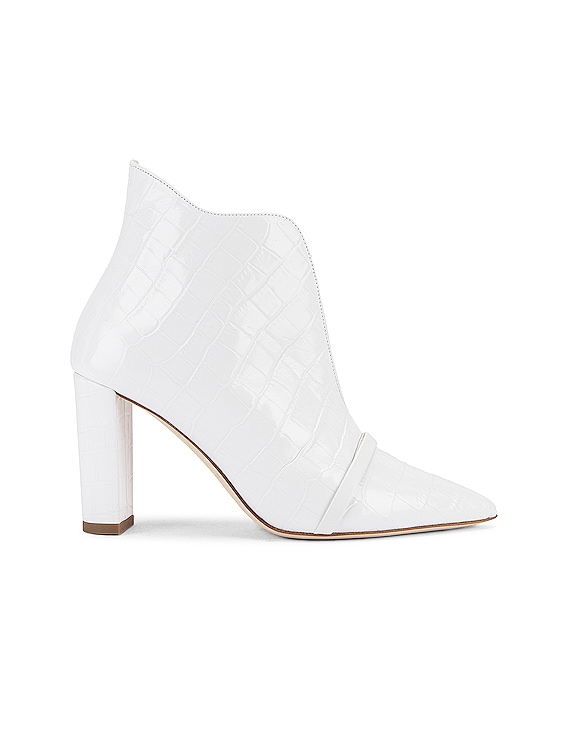 Clara 85 Heel in White