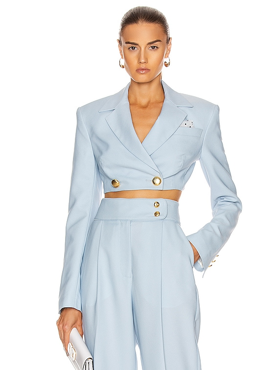 Brittany Jacket in Sky Blue