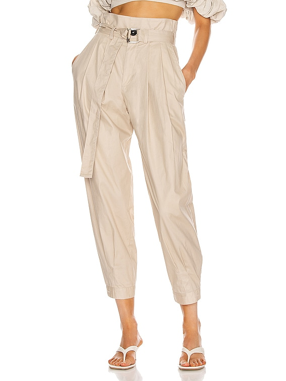 Billy Retro Pops Pant in Oyster