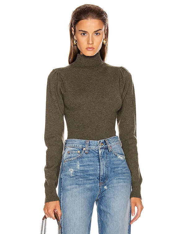 Waverly Pullover Bodysuit in Olive